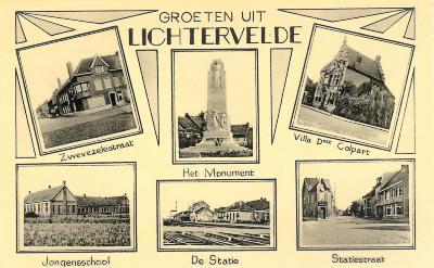 Groeten uit Lichtervelde ca. 1950