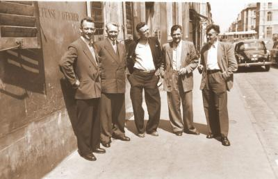 Agenten Nuytten, Houtaeve en Damman, 26 juni 1957