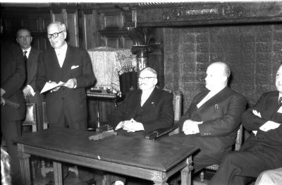 Burgemeester Allewaert, Izegem, 1958