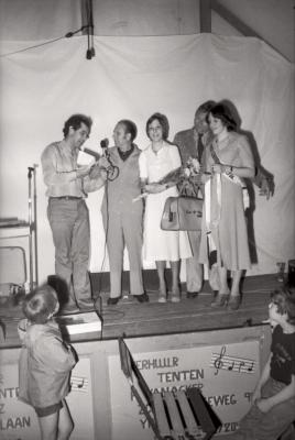 Verkiezing miss 'Statiehoek', Moorslede mei 1977