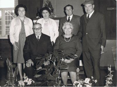 Familiefoto gezin Devloo - Declerq, Gits