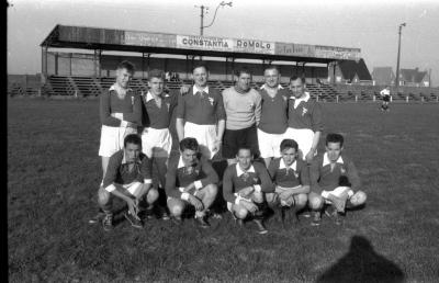 Voetbalclub KWB Emelgem, Izegem, 1958