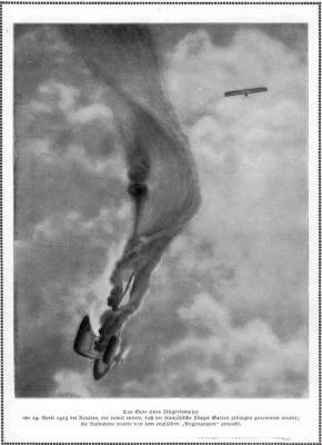 Luchtgevecht nabij Roeselare, 19 april 1915