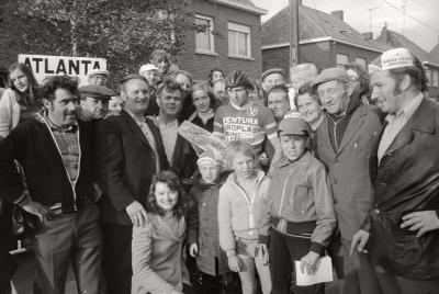 Winnaar wielerwedstrijd, Moorslede 1977