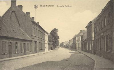 Bruggestraat, Ingelmunster, ca 1910