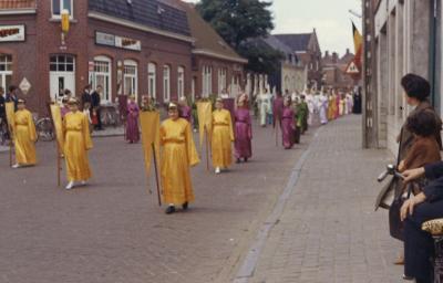 Sacramentsprocessie Beveren, 1965