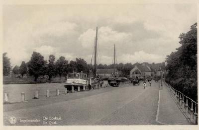 De Loskaai, Ingelmunster, ca 1950