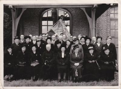 Bestuur? bond van grote gezinnen, Beveren, jaren '55-'60?