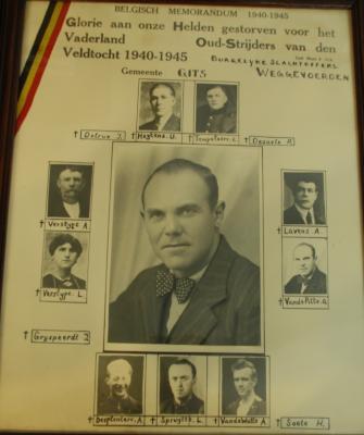 Belgisch memoriam 1940-1945, Gits