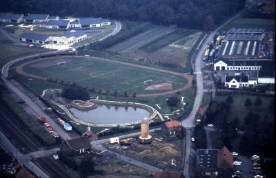 luchtfoto Koolskampstraat, Gits