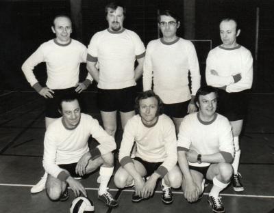 Minivoetbal KWB, 1974, Gits