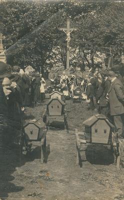 Begrafenis slachtoffers, Lichtervelde