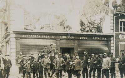 Verwoeste accordeonfabriek, Lichtervelde