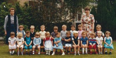 Kleuterklas, geboortejaar 1980, Gits