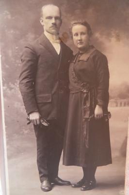 Huwelijk Jeanne Werbrouck en Sylveer Reynaert, Lichtervelde