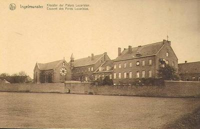 Klooster van de Paters Lazaristen, Weststraat, Ingelmunster, ca 1905