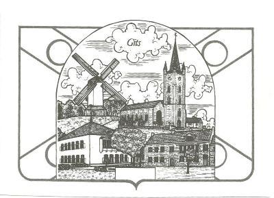 Pentekening gebouwen, Gits