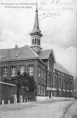 Voorgevel Kapel Ten Bunderen, Moorslede