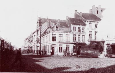 Café 'Graenmarkt' op hoek Noordstraat-Ooststraat, Roeselare