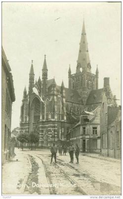 Beselarestraat, Dadizele omstreeks 1917