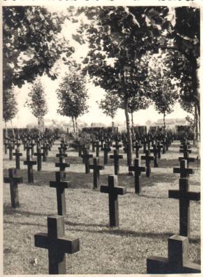 Duitse militaire begraafplaats, Dadizele 1940
