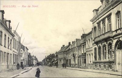 Noordstraat richting 't Fort, Roeselare