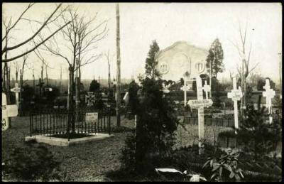 Duitse militaire begraafplaats, Staden