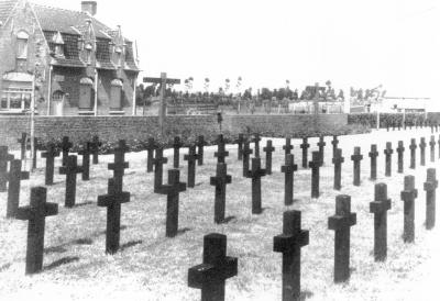Duitse militaire begraafplaats, Kleppestraat Dadizele