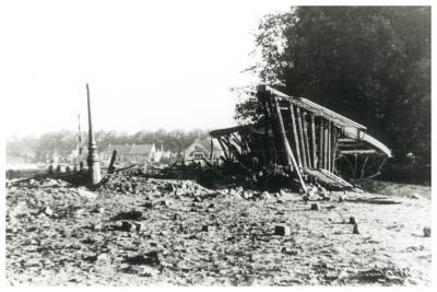 Hoge brug Ingelmunster 27 Mei 1940