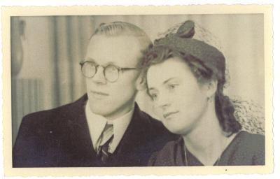 Zulma Cardoen en Alfons Huyghebaert - ouders Dirk Huyghebaert