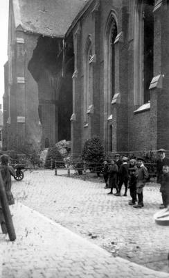 Bomaanslag op noorderbeuk Sint-Tillokerk, Izegem, 22 september 1917