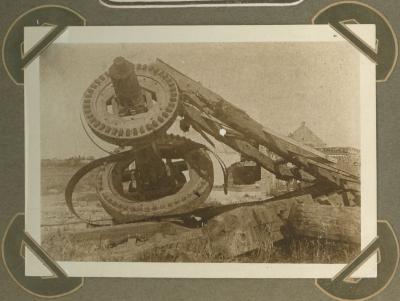 Ruïnes molen Ramskapelle (Nieuwpoort) 20 september 1915