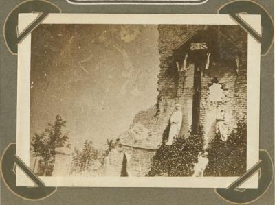 Christusbeeld van Noordschote, 1 mei 1915