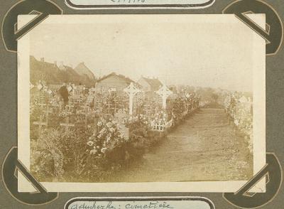 Begraafplaats, Adinkerke 21 september 1915