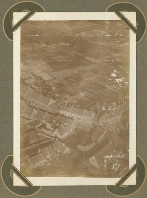 Luchtfoto Adinkerke 25 september 1915