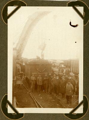 Ontspoorde trein, Adinkerke 13 oktober 1915
