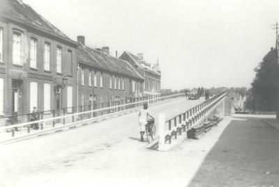 De Centrumbrug, Ingelmunster, ca 1941