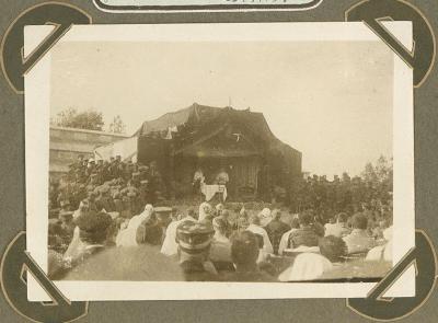 Hospitaal Cabourg, Adinkerke 23 september 1915