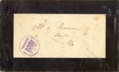 Doodsbrief, Rumbeke, 1917