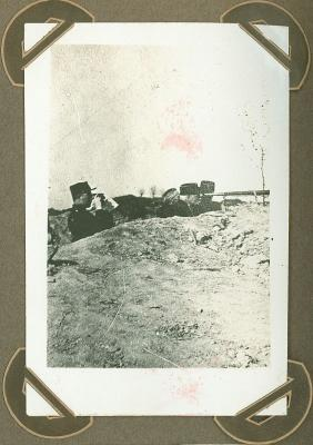 Koning aan front, oktober 1915