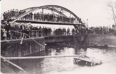 Centrumbrug, Ingelmunster, ca 1932