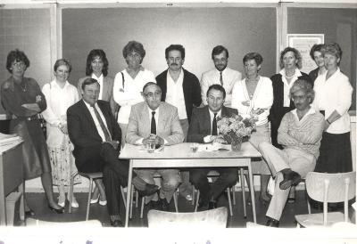 Info-avond overgang kleuter naar lager onderwijs en lager naar middelbare school, Lichtervelde, 23 mei 1986