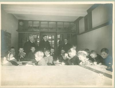4e studiejaar bij Des. Denys-Carbonez, 1914-1915, Roeselare