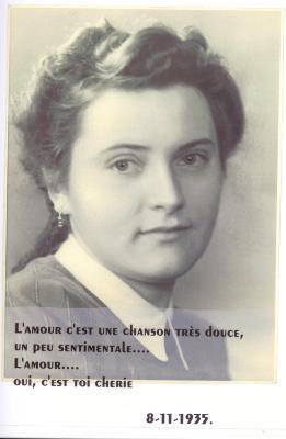Zulma Cardoen, 8 november 1935