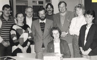 Vernieuwd Oudercomité De Valke , Lichtervelde , 28 september 1990