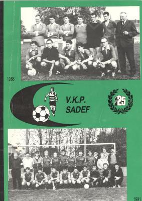 Zilveren jubileum V.K.P. Sadef, Gits, 1991