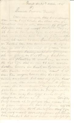 Oorlogsbrieven Maurice Vandenbussche (deel 2), Oostnieuwkerke