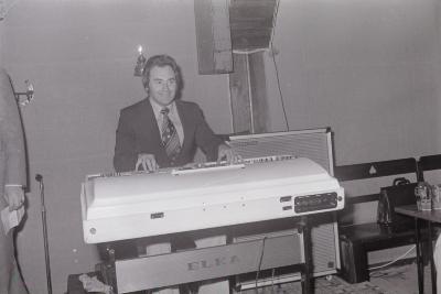 Zangcrochet in zaal The Ranch, Moorslede september 1975