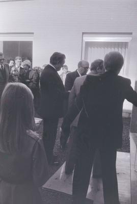 Inhuldiging rust-en verzorgingstehuis, Staden september 1975