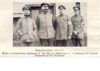 Bataljon oversten, 1914-1915, Westrozebeke